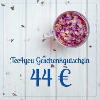 Gutschein 44€