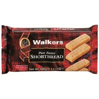 Walkers Pure Butter Shortbread Fingers, 160g