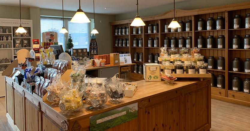 Das Tee4you Ladengeschäft in Cuxhaven